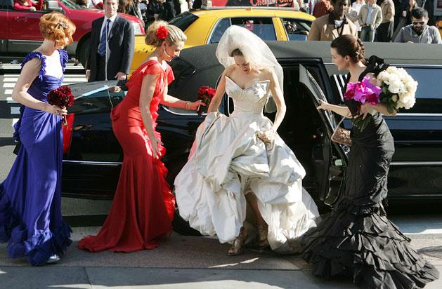 Satc Bridesmaid Dresses 7