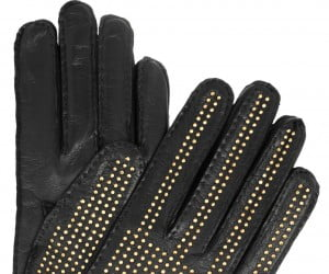 #7 burberry studded leather gloves