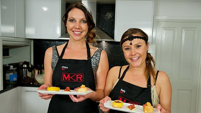 Chloe and kelly my kitchen rules villains are put to the for Y kitchen rules season 5