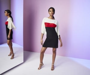 Chanel Iman_Vionnet_Dress_THE OUTNET.COM