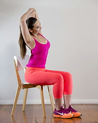 stretches for office aches and pains