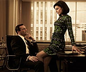 mad men office affair