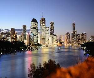 Brisbane_During_Twilight