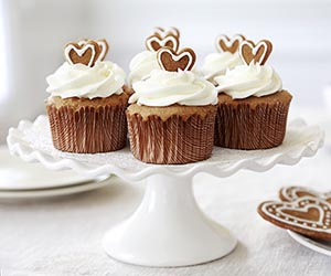 Ginger cupcake recipe