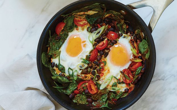 Ranch-Eggs-with-Spinach