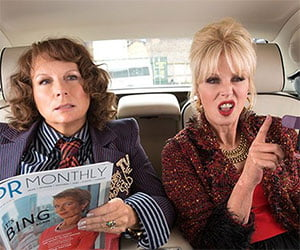 Absolutely Fabulous: The Movie (2016) Review
