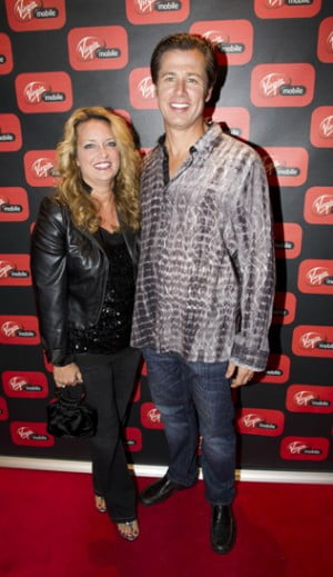 Doug Pitt with wife Lisa Pitt