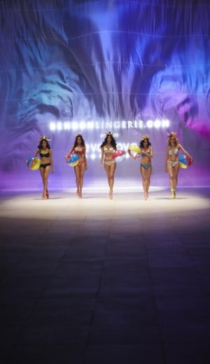 Models showcase Lingerie designs by Bendon