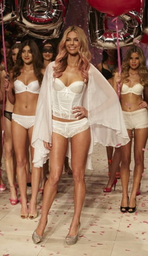 Bendon Lingerie Final Walk featuring Jennifer Hawkins