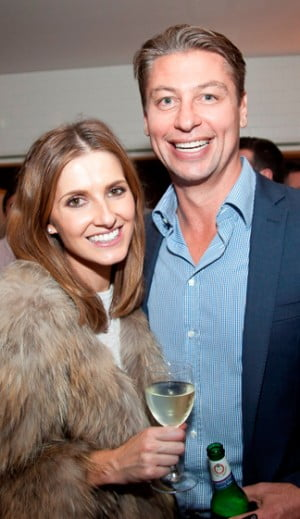 Kate Waterhouse and Luke Richardson