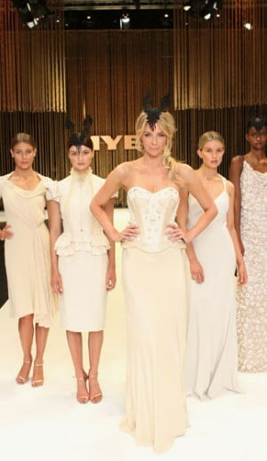 Jennifer Hawkins and Models in Aurelio Costarello