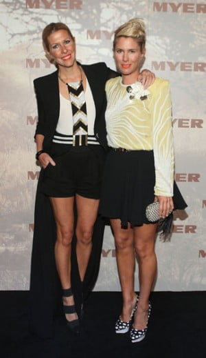Sass and Bide's Sarah Jane Clarke and Heidi Middleton