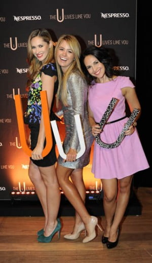 Nikki Phillips, Jesinta Campbell and Zoe Balbi