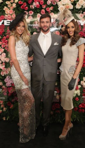 Myer Ambassadors Jennifer Hawkins, Kris Smith and Rebecca Judd