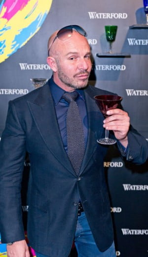 Alex Perry attends the Waterford Crystal Celebration