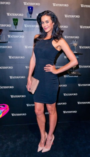 Megan Gale attends the Waterford Crystal Celebration