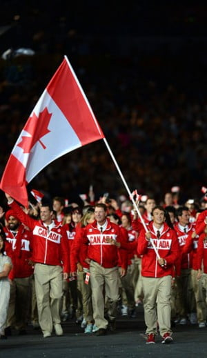 The Canadian Olympic Team