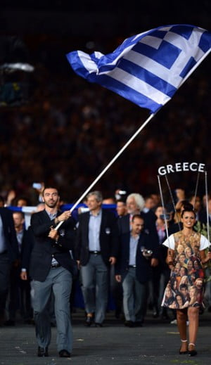 The Greek Olympic Team