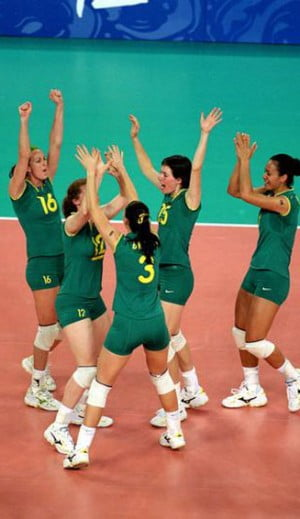 The Australian Womens Volleyball Team