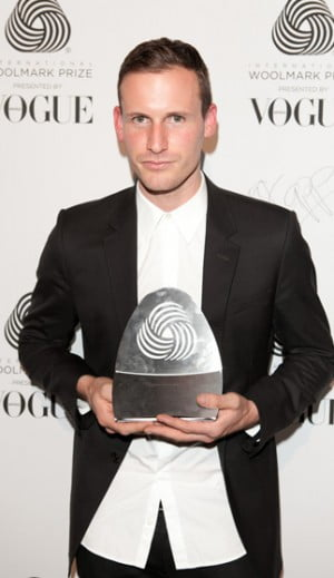 Designer Dion Lee wins International Woolmark Prize 2012