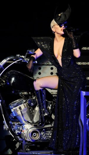 Lady Gaga performs at KIIS FM