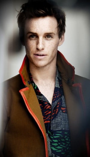 Eddie Redmayne for Burberry Spring Summer