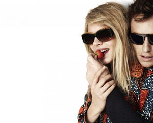 Cara Delevingne and Eddie Redmayne for Burberry Spring Summer