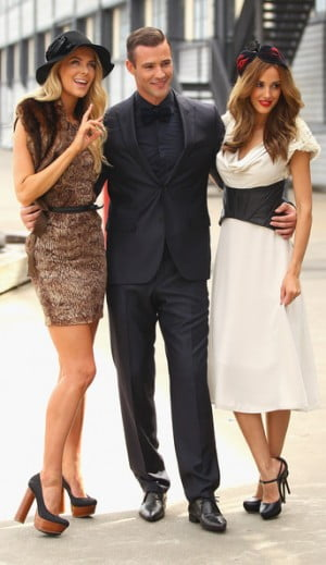 Jennifer Hawkins, Kris Smith and Rebecca