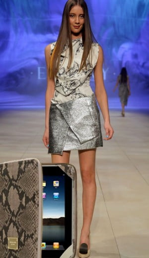 Michael Kors Tablet Case and Ellery at MBFFS